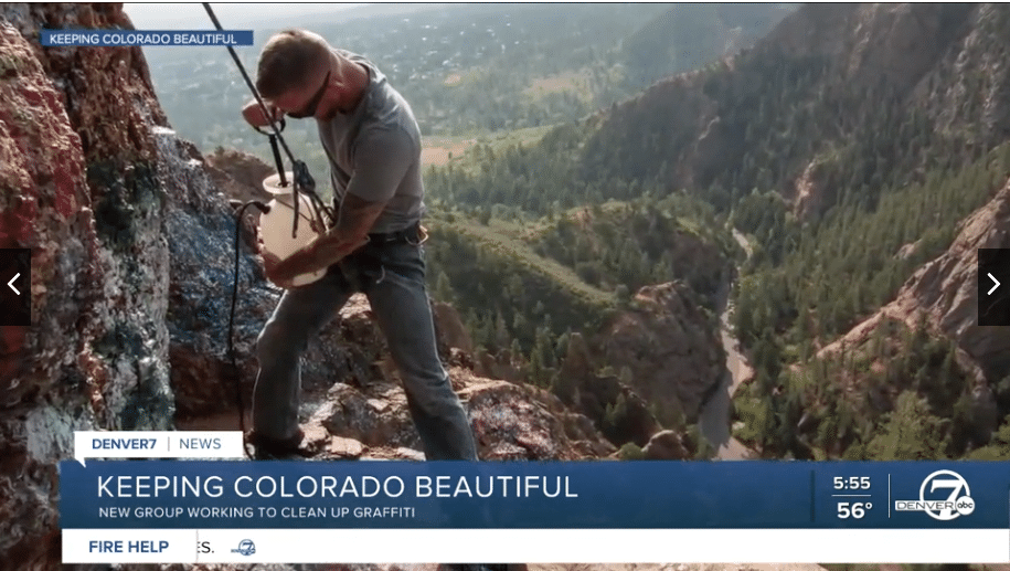 Keeping Colorado Beautiful featured on KMGH Channel 7 News