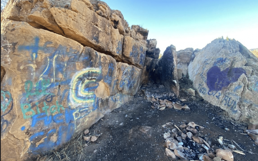 OutThere Colorado | Meet the group that's cleaning graffiti from natural areas around Colorado